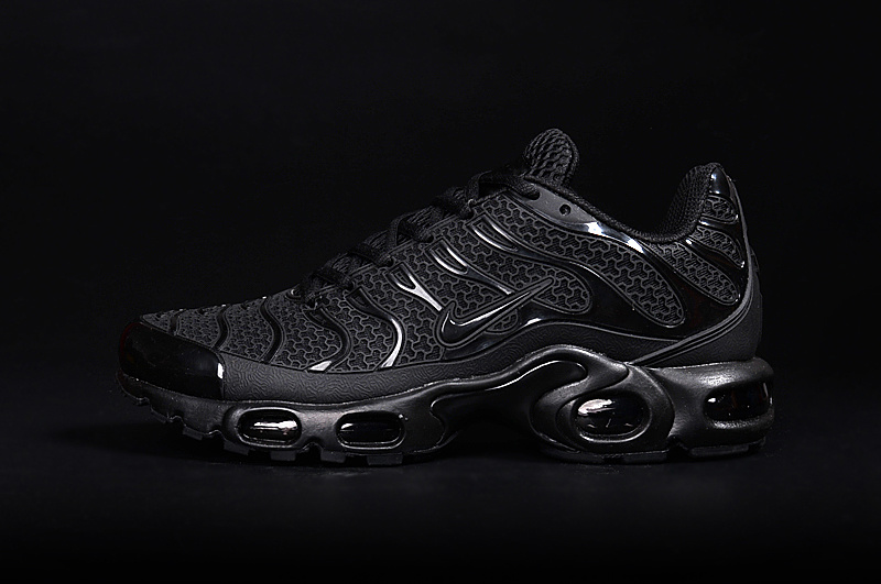 2016 Men's Nike Air Max TN Shoes All Black