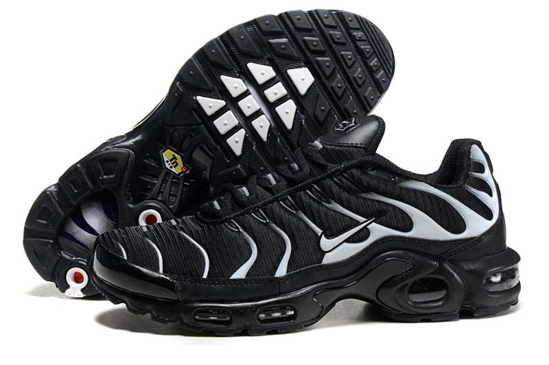 2016 Men's Nike Air Max TN Shoes Black/White