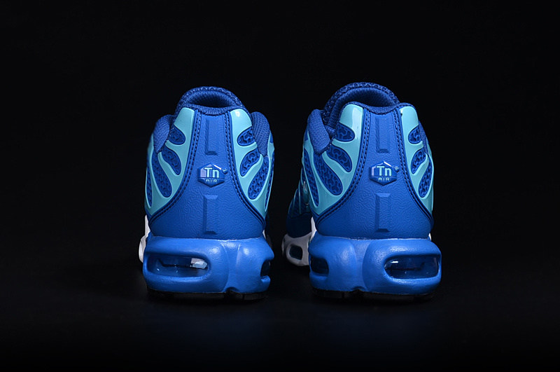 2016 Men's Nike Air Max TN Shoes Blue/White