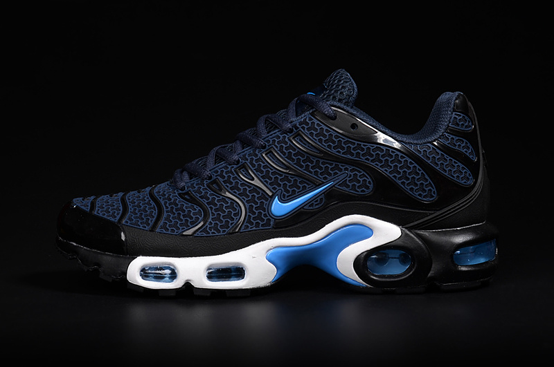 2016 Men's Nike Air Max TN Shoes Navy/Black