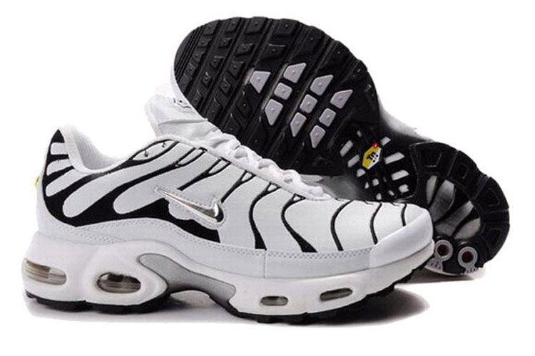 2016 Men's Nike Air Max TN Shoes White/Black