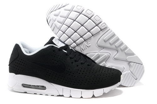 Air Max 90 Current Moire Men Black White Running Shoes Taiwan