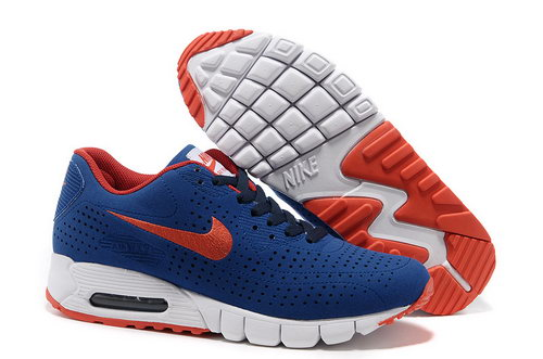 Air Max 90 Current Moire Men Blue Red Running Shoes Norway