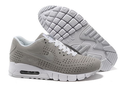 Air Max 90 Current Moire Men Gray White Running Shoes Spain