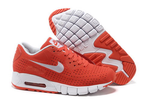Air Max 90 Current Moire Women Red White Running Shoes Italy