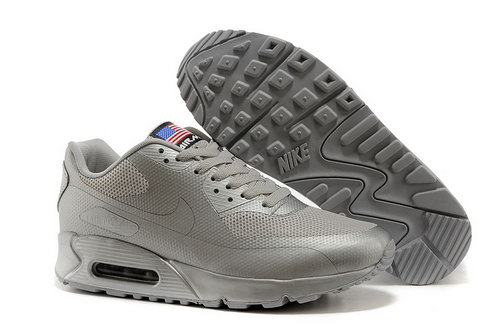 Air Max 90 Hyperfuse Prm Qs Mens Shoes Silver Wholesale