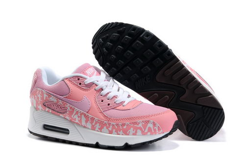 Air Max 90 Womens Size Us5 6 7.5 Pink White Black For Sale