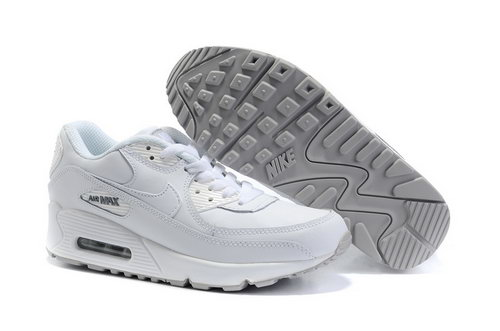 Air Max 90 Womens White Grey Usa