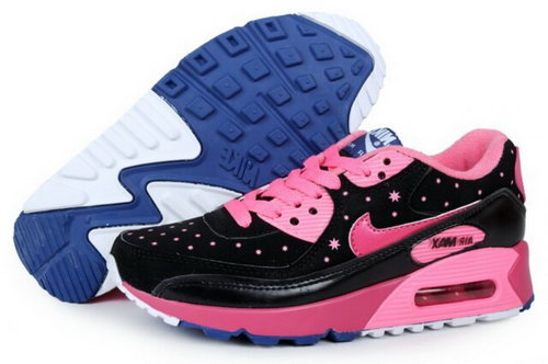 Air Max 90 Womens New Shoes Black Rosa Czech