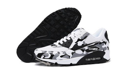 Air Max 90 Womens Shoes Flower White Black Czech