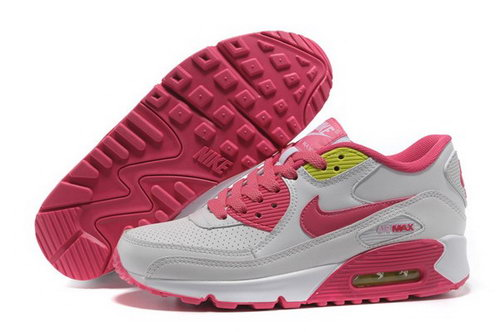 Air Max 90 Womens Shoes White Pink France