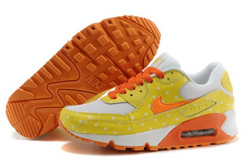 Air Max 90 Womens Shoes Yellow Taiwan