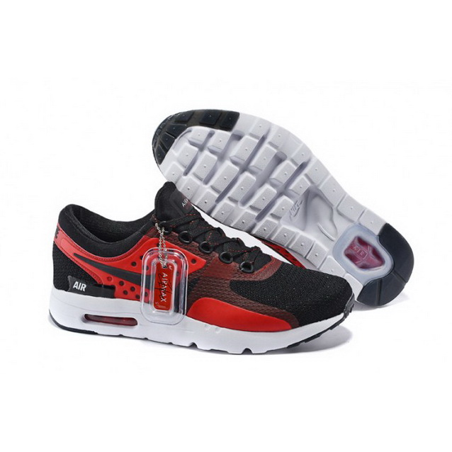 Mens Nike Air Max Zero Qs Black Red