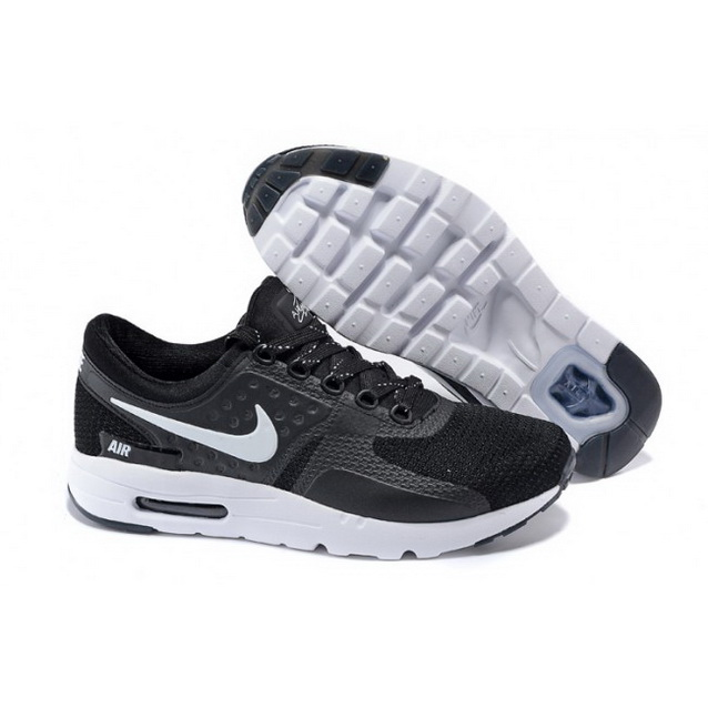 Mens Nike Air Max Zero Qs Black White