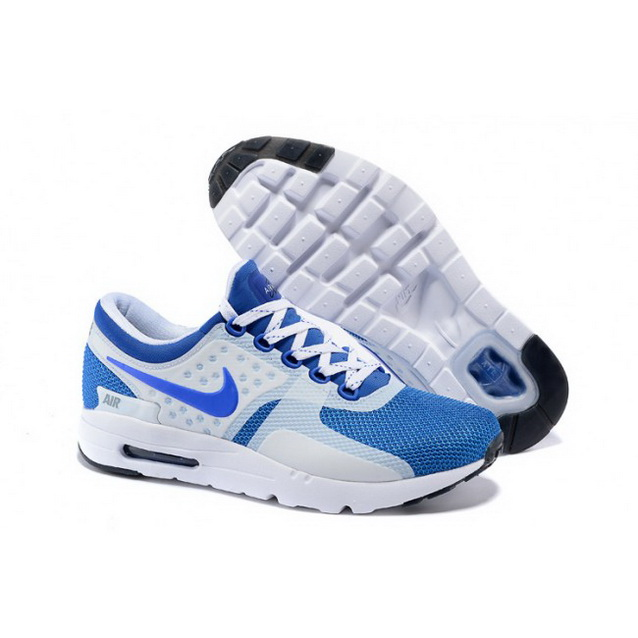 Mens Nike Air Max Zero Qs Blue White