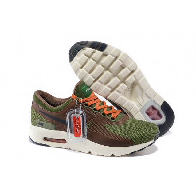 Mens Nike Air Max Zero Qs Green Brown Orange