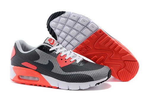 Nike Air Max 90 Jcrd Mens Shoes Gray Black Orange White Hot Japan