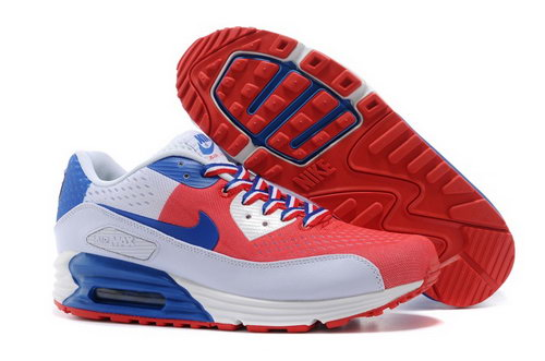 Nikeid Air Max 90 2014 World Cup National Team Womens Shoes America White Red Outlet