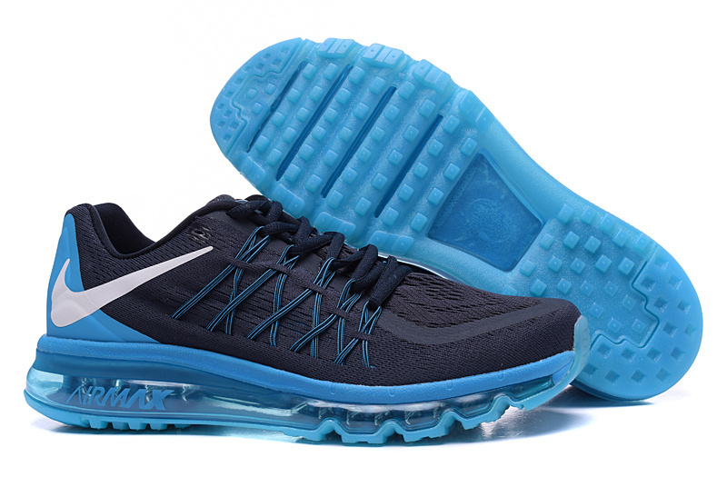Nike Air Max 2015 Men Running Shoes Blue White