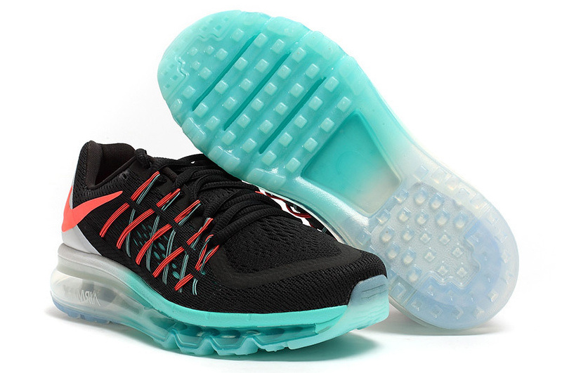 Nike Air Max 2015 Shoes For Women Black White Blue