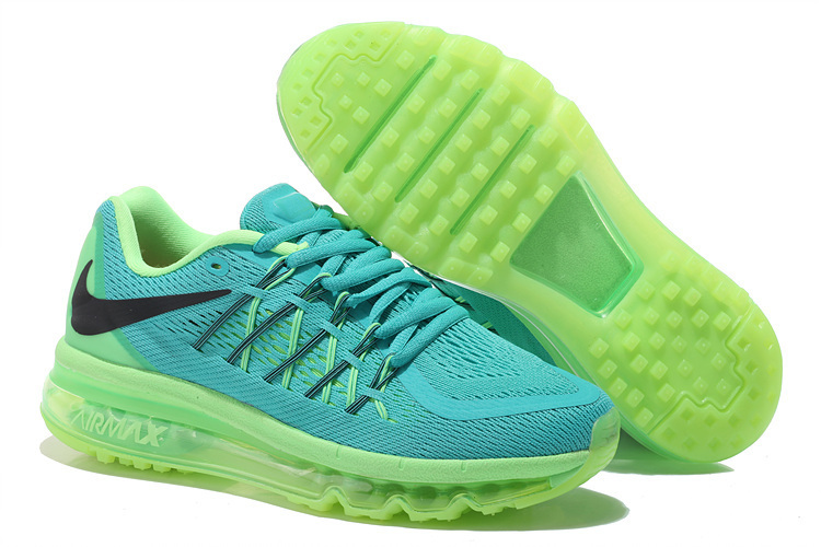 Nike Air Max 2015 Shoes For Women Green Yellow