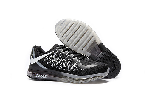 Nike Air Max 2017 Mens Running Shoes Black White