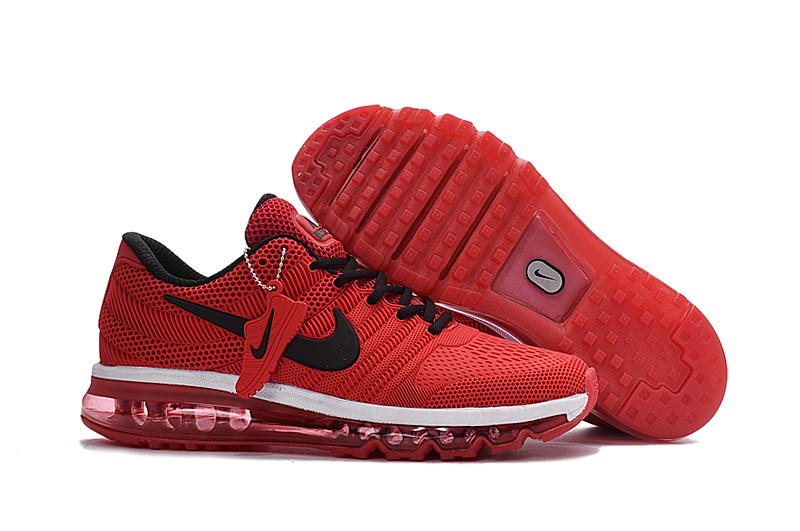 Nike Air Max 2017 KPU Mens Running Shoes Red Black