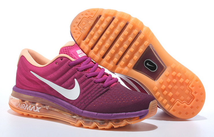 Nike Air Max 2017 Womens Running Shoes Purple Orange