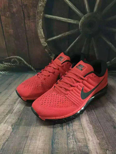 Nike Air Max 2017 Mens Running Shoes Red Black