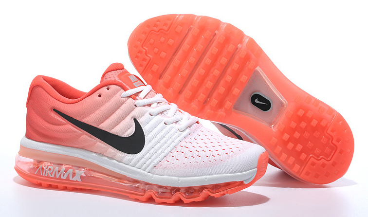 Nike Air Max 2017 Womens Running Shoes White Orange