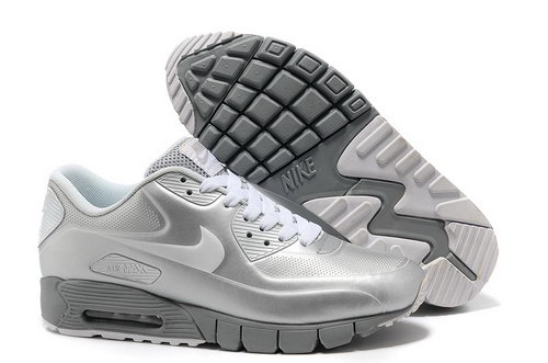 Nike Air Max 90 Current Vt Lsr Unisex Gray White Running Shoes Online Store