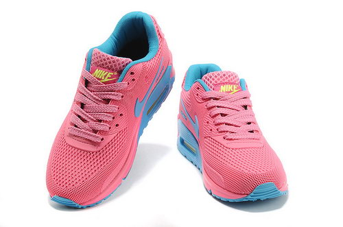 Nike Air Max 90 Em Womens Pink Blue For Sale