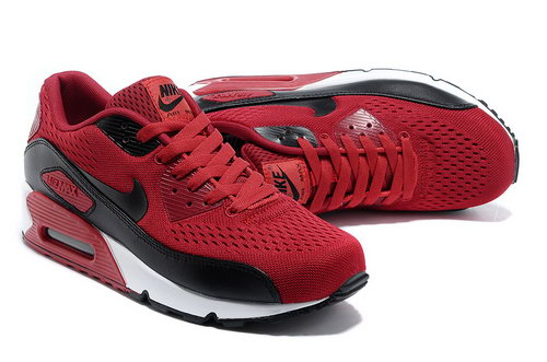 Nike Air Max 90 Em Womens Red Black Online Store