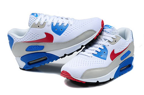 Nike Air Max 90 Em Womens White Blue Black Usa