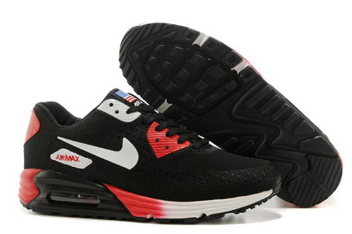 Nike Air Max 90 Hyp Prm Mens Shoes High Inside Black White Red Hot Germany