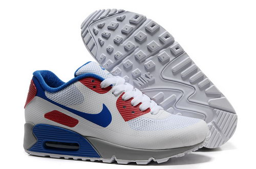 Nike Air Max 90 Hyp Frm Unisex White Red Running Shoes Korea