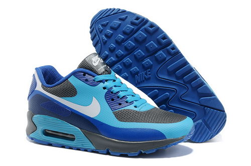 Nike Air Max 90 Hyp Frm Women Blue White Running Shoes Online Store
