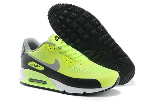 Nike Air Max 90 Hyp Prm Men Green Black Running Shoes Outlet