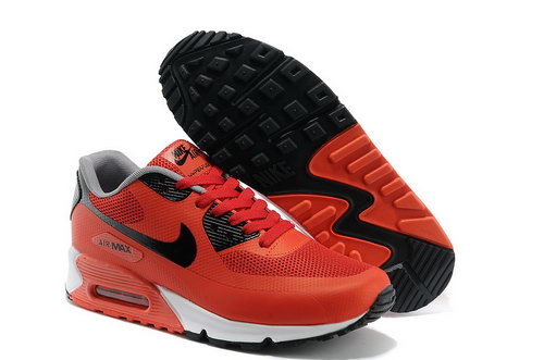 Nike Air Max 90 Hyp Prm Men Red Black Running Shoes Denmark