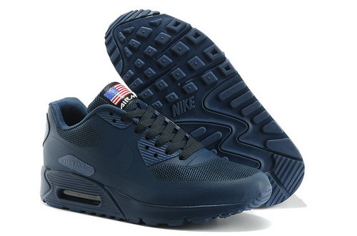 Nike Air Max 90 Hyp Qs Men All Dark Blue Running Shoes Switzerland