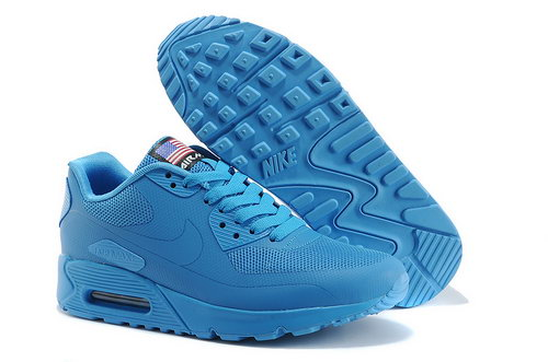 Nike Air Max 90 Hyp Qs Unisex All Blue Sneakers Best Price