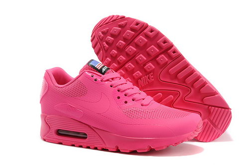 Nike Air Max 90 Hyp Qs Women All Pink Sports Shoes