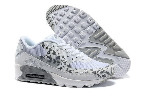 Nike Air Max 90 Hyperfuse Unisex Gray White Running Shoes Hong Kong