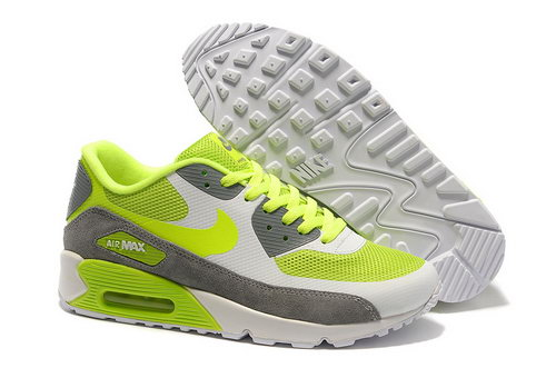 Nike Air Max 90 Hyperfuse Unisex Green Gray Running Shoes France