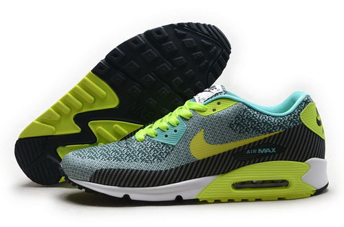 Nike Air Max 90 Jacquard Mens Shoes Venom Green Outlet Store