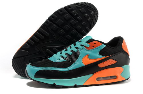 Nike Air Max 90 Men Blue Orange Running Shoes Norway