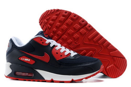 Nike Air Max 90 Mens Shoes Black Red Special Czech