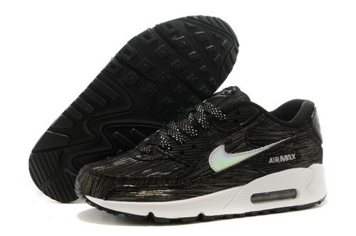 Nike Air Max 90 Mens Shoes Black White Hot On Sale Best Price