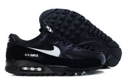 Nike Air Max 90 Mens Shoes Black White Factory Store