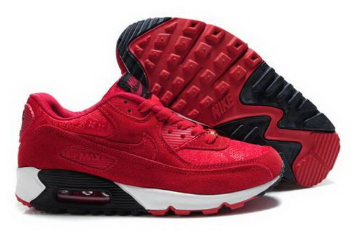 Nike Air Max 90 Mens Shoes China Red On Sale